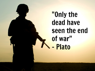 war and the end quotation