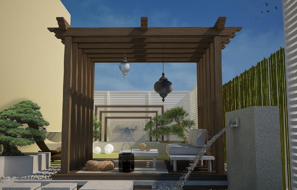 progettare un patio nel segno del relax