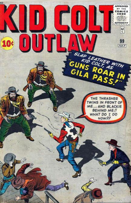 Kid Colt Outlaw 99
