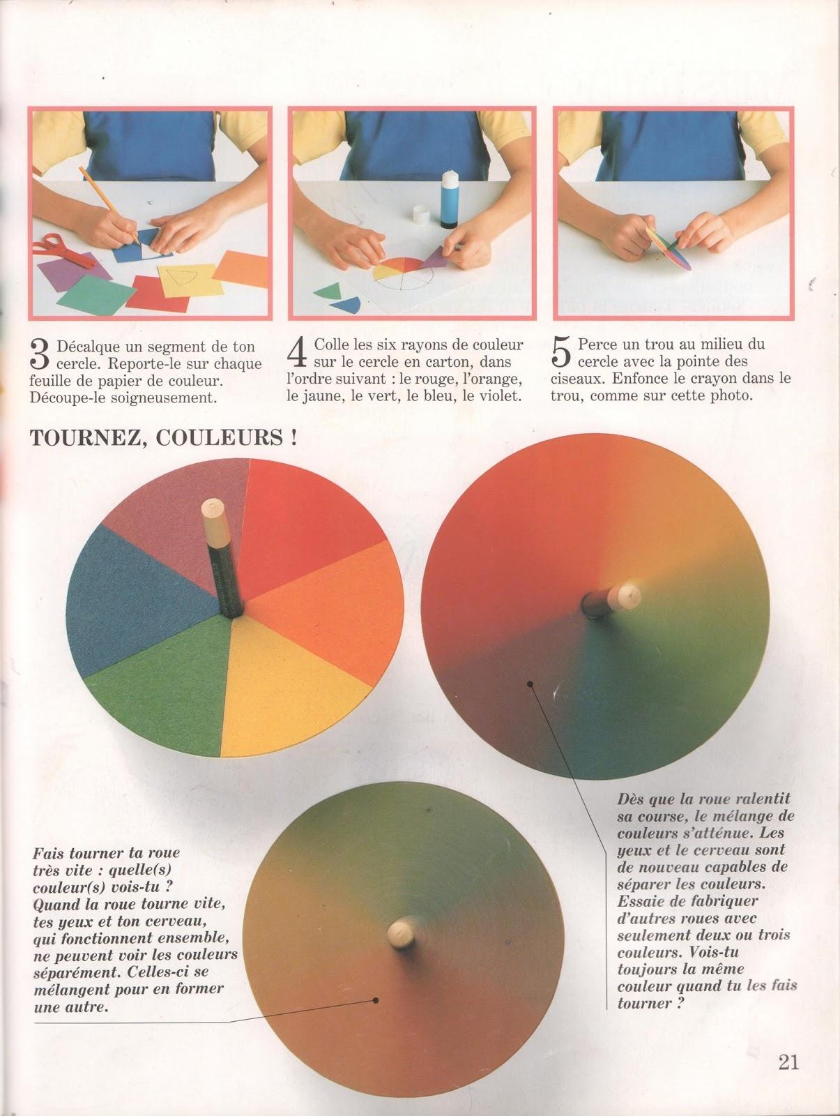 Couleur Qui Sont Des Choses leçons de choses: couleurs en fuite (voir les couleurs séparément ou