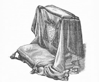 The Draping of the Prie-Dieu of a Prelate in Roman Usage