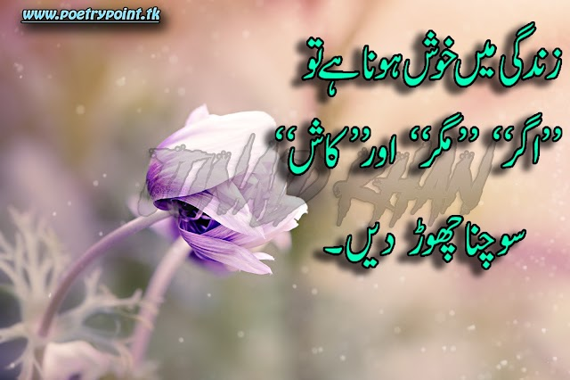 """Aqwal-e-Zareen in urdu"""" Zindagi me khosh rehna han to"""" // Urdu Quotes // Deep Poetry"""