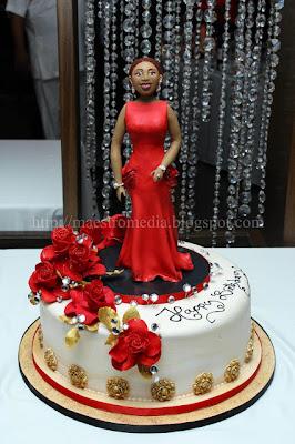Lanre ogunlesi wedding cakes