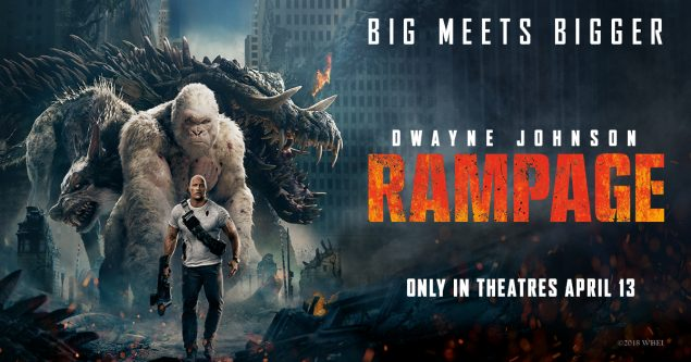 Filmy Bate Rampage 2018 Review Trailer Cast Crew Box Office