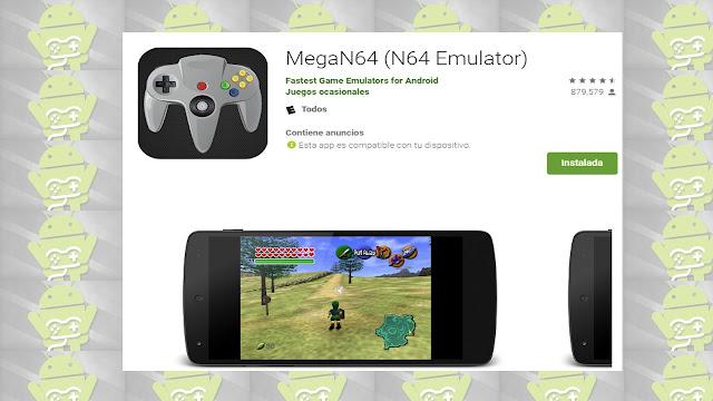 emuladores n64 Megan64