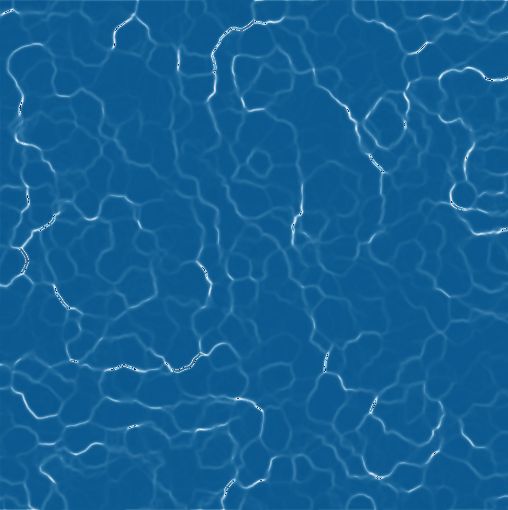 How can I generate a simple river surface seen from above
