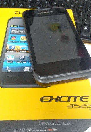 Cloudfone Excite 352g available at Globe Postpaid Plan 499