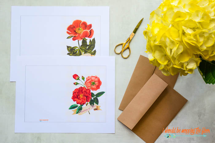 Printing Greeting Cards