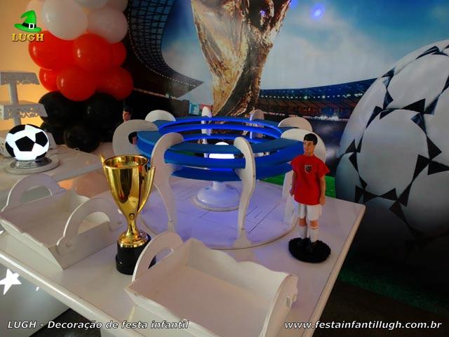 Decoração infantil Futebol - Mesa de aniversário