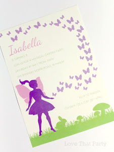 Fairy Garden Invitation