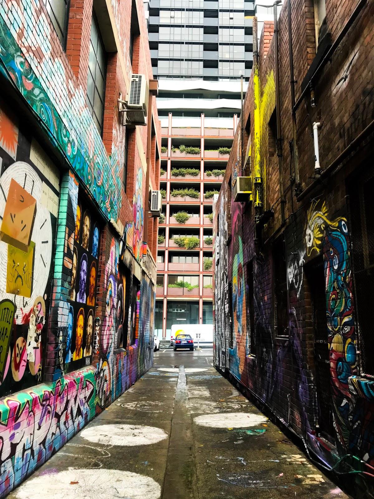 Hosier Lane Street Art - Melbourne