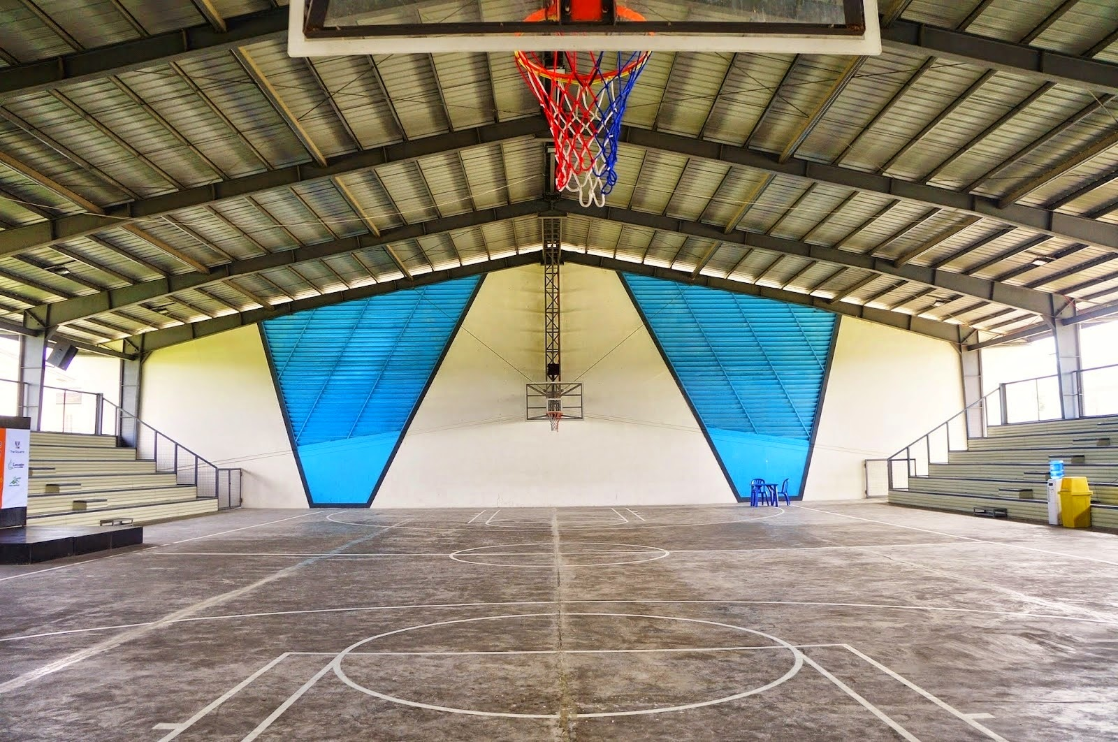 Covered Outdoor Basketball Court