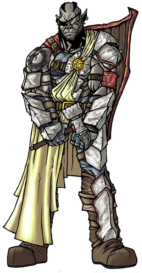 D&D Character Backstory: Muk Dorkins -Orc/Cleric-