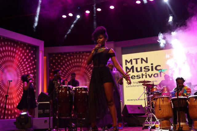 Mzvee Thrills Patrons At MTN Music Festival
