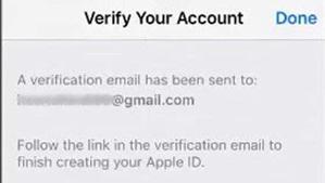 verify apple ID