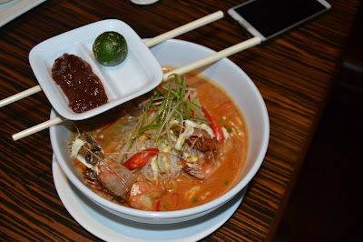 Laksa Sarawak by chef Musa Punan . Mulu Marriot Resort and Spa