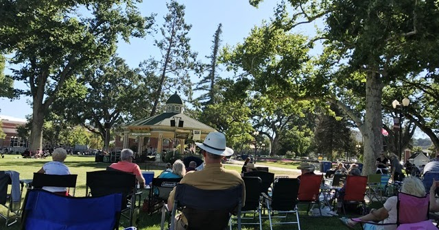 Wine, Women, and Song...Concert Day in Paso Robles