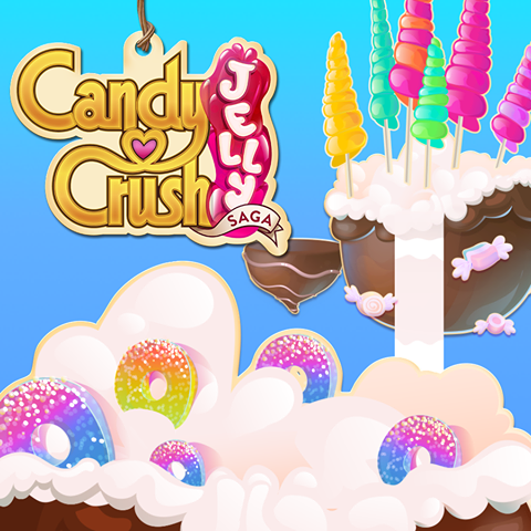 Candy Crush Jelly Saga Saga 221-240