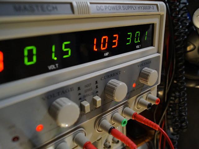 """Эксперимент с нагревом радиаторов для усилителя на основе """"кристалла"""""""