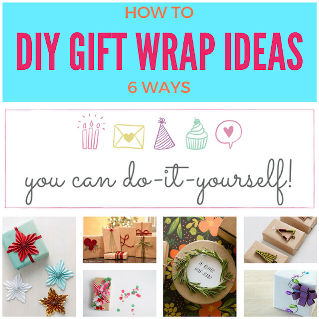 6 lovely DIY gift packaging ideas