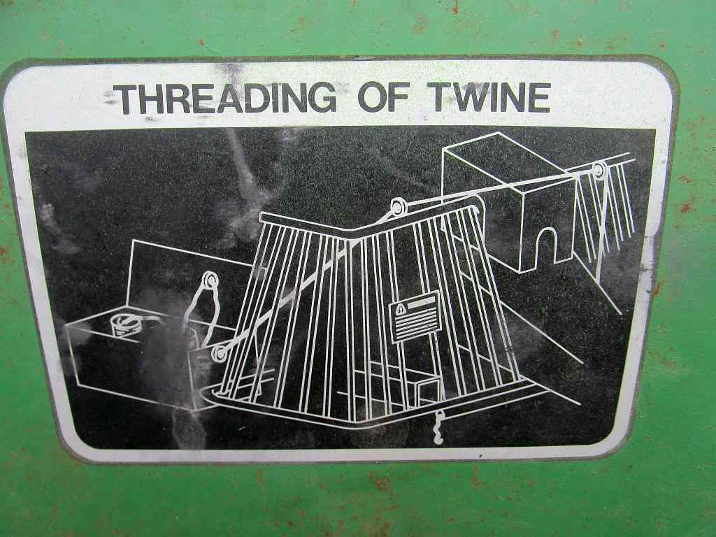 Life Among The Tall Pines John Deere 510 Baler Wiring Diagram 510d In Previous Photo You Can See Twine Going Down To White Holder Goes Underneath Pto And Hitch Into Another Unseen