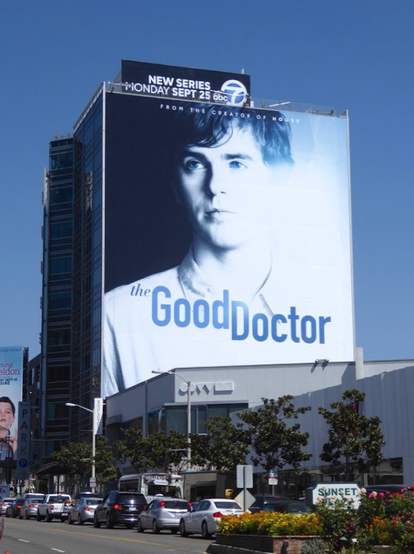 Good Doctor giant series premiere billboard