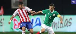 México vs Paraguay en partido amistoso
