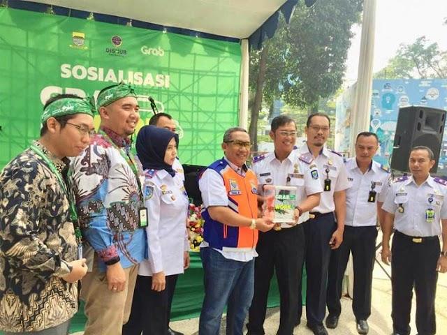 Dishub Kota Bandung Uji Coba Carpooling Grab to Work