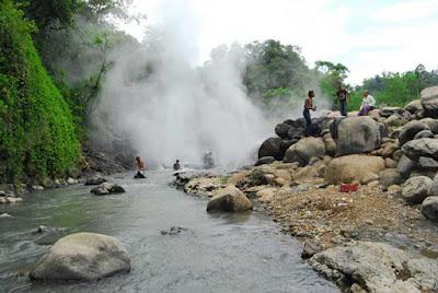 Pemandian Air Panas Cisolok Sukabumi Jawa Barat