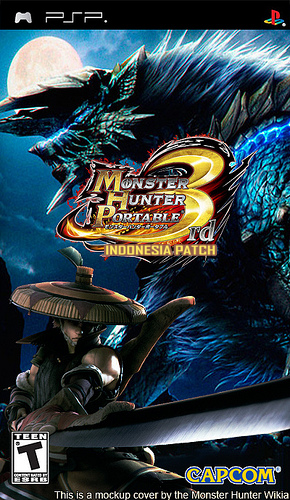 Download Monster Hunter Portable 3 RD [Indo Patch] PSP ISO