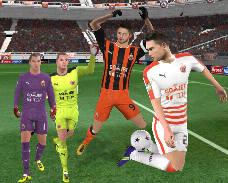 PERSIJA PUMA JERSEY FANTASY DREAM LEAGUE SOCCER 2018