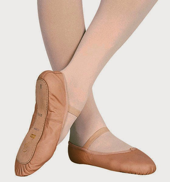 Ballet Shoes Canvas Vs Leather