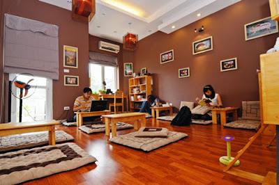 Thêm không gian rộng rãi cho quán cafe