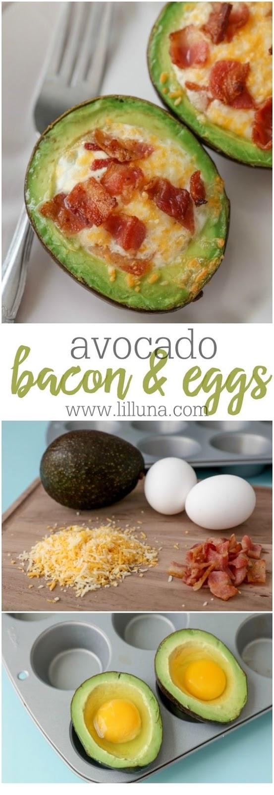 Avocado Bacon And Eggs