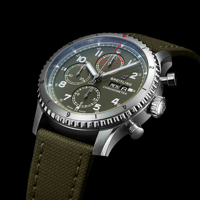 Breitling Aviator 8 Chronograph 43 Curtiss Warhawk Ref. A13316