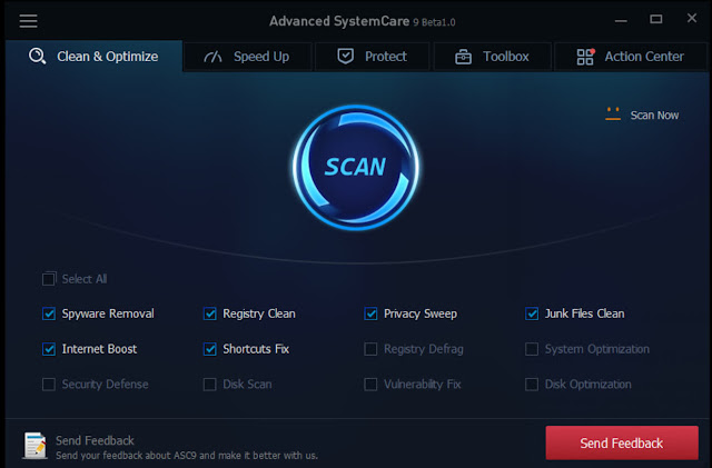 Advanced SystemCare Pro 9.2.0.1106 license key