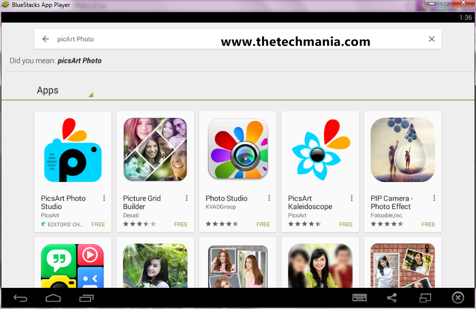 Free Download PicsArt Photo Studio App For PC/Laptop Windows