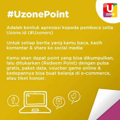 Uzone Point Ini Caranya