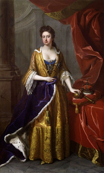 Anne, Queen of Great Britain by Michael Dahl, 1705