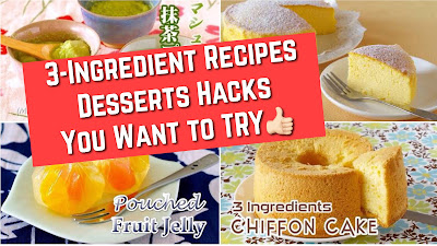 3-Ingredient Desserts Hacks You Want to TRY Now!