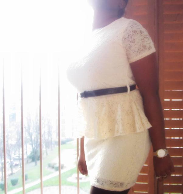 Shopping - La robe blanche