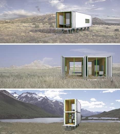 Tercera piel mas cargotecture boring or brilliant - Simple container house plans ...