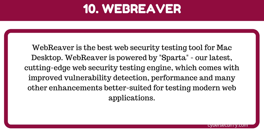 Cyber Security: Website Vulnerability Scanner Tools for Web
