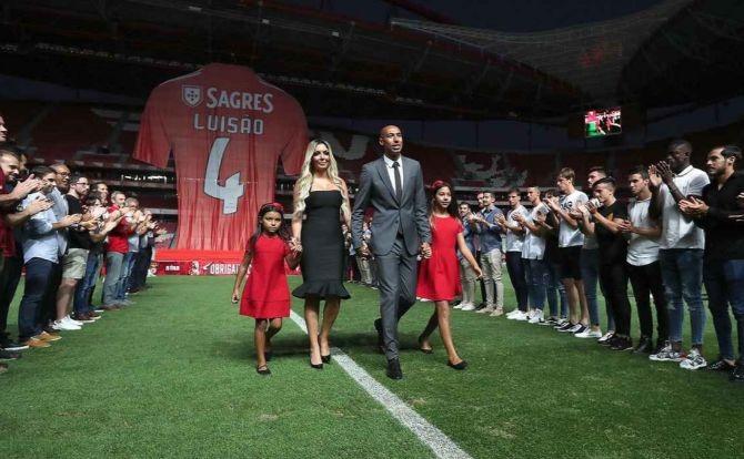 Benfica despedida de Luisão
