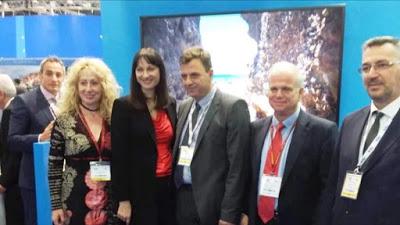 Ο Δήμος Ερμιονίδος στη διεθνή έκθεση τουρισμού WTM στο Λονδίνο