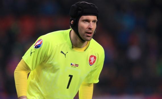 Czech Republic Player of the Year Petr Cech