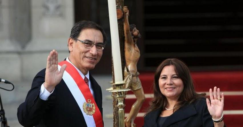 MIMP: Ana María Alejandra Mendieta Trefogli juramentó como nueva Ministra de la Mujer y Poblaciones Vulnerables (2 Abril 2018) www.mimp.gob.pe