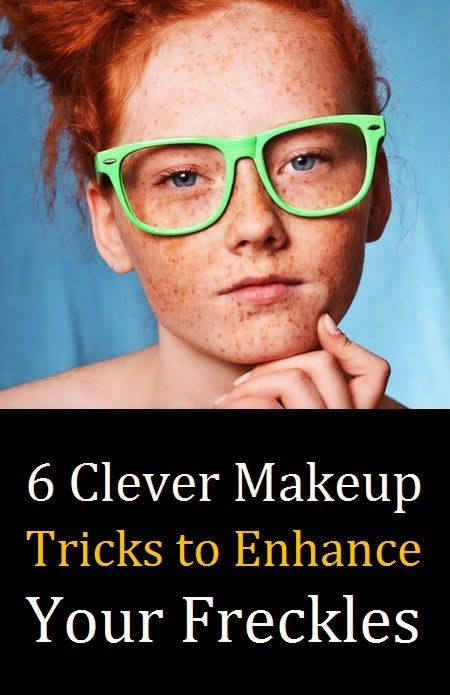6 Clever Makeup Tricks to Enhance Your Freckles