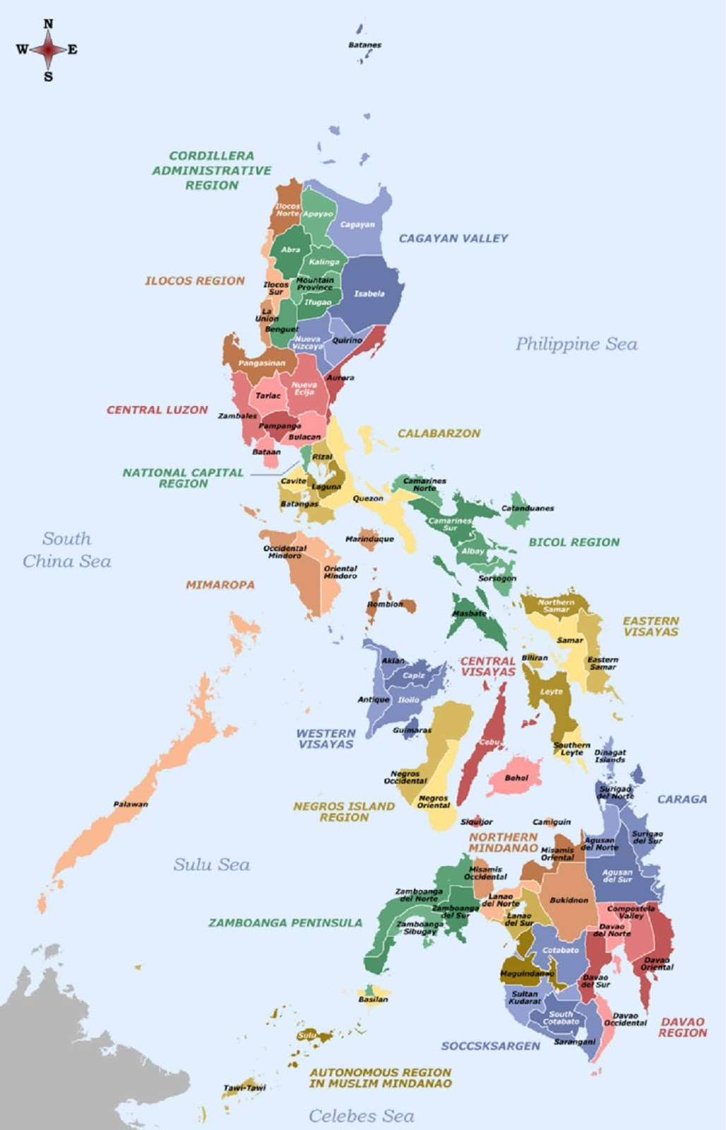 Peta Negara Filipina