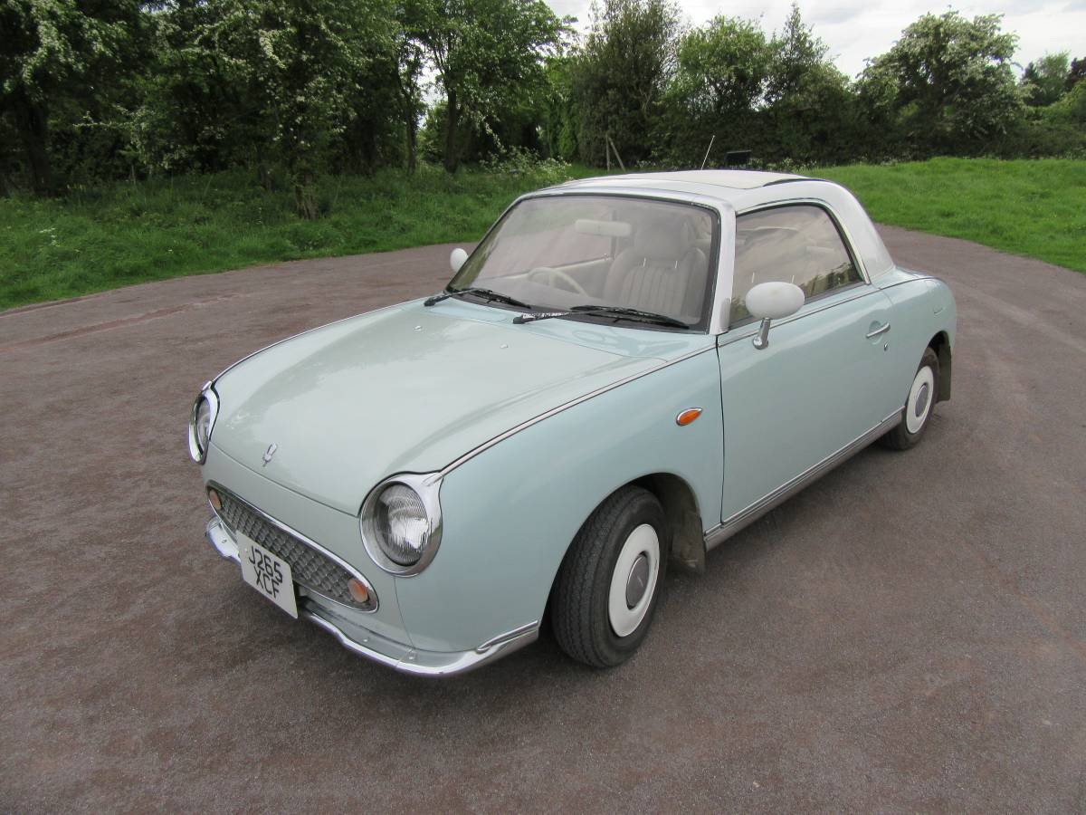 Daily Turismo Head On A Pike 1991 Nissan Figaro